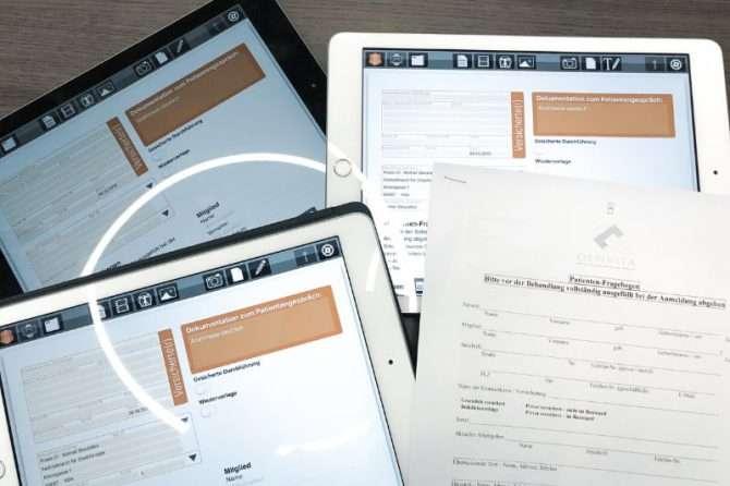 NEU: Digitaler Anamnesebogen kommt ganz ohne Papier aus