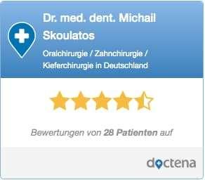 Dr. Michail Skoulatos, Zahnarzt Köln, Sterne-Bewertung