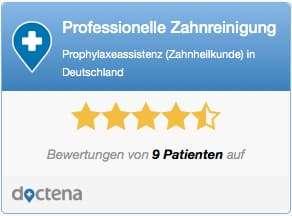 Professionelle Zahnreinigung Köln, Sternebewertung